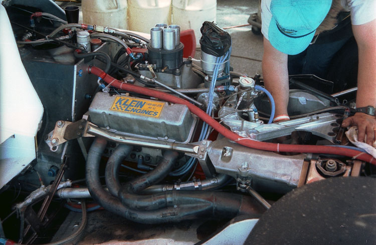 Indy  Race Car Engines