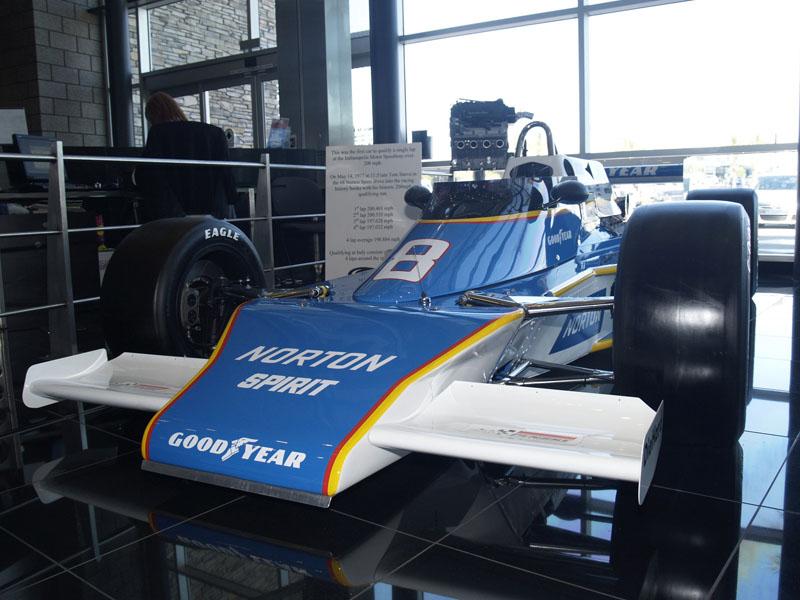 First Ever Car >> Penske Racing Museum